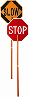 Cortina 03-822P ABS Plastic Pole Mounted Paddle Sign, Legend