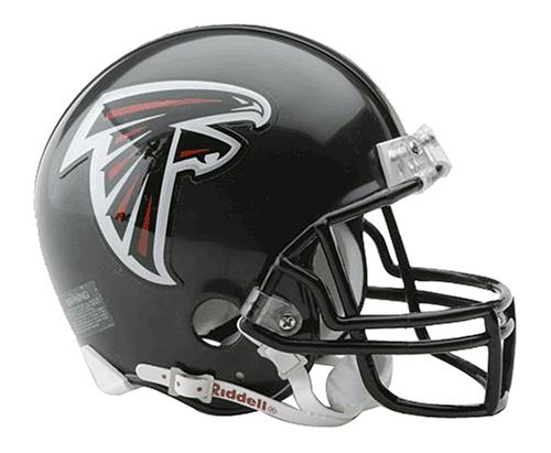 NFL Riddell Football Mini-Helm Atlanta Falcons