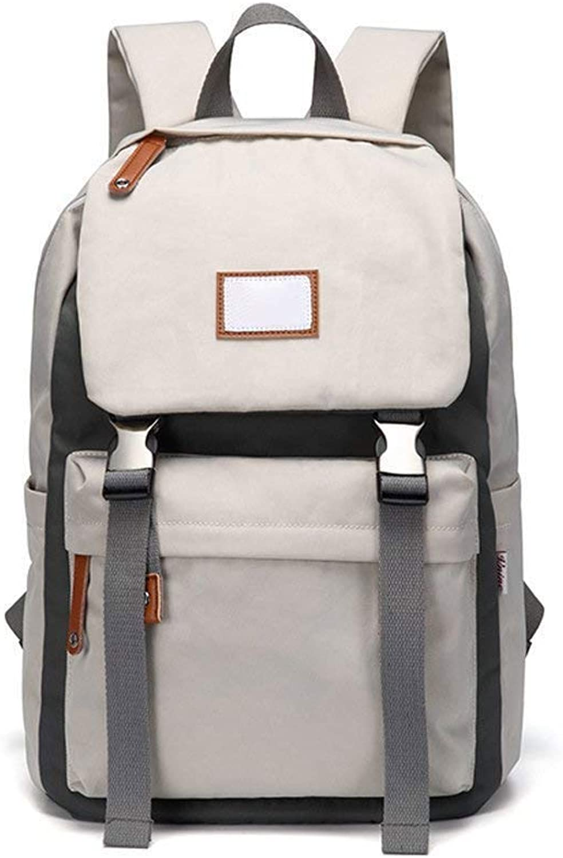 Baobei Fashion Trend Korean Double Shoulder Package Student Large Capacity Lightweight Bag Outdoor Leisure Waterproof Travel Bag Business Laptop Bag