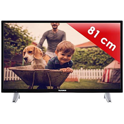 puissant Téléviseur LED 80 cm Telefunken S32N01NC16 – Téléviseur LED 32 pouces – Enregistrement PVR (USB)…