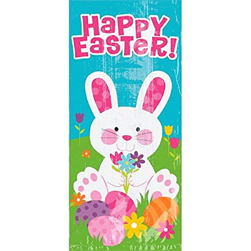Amscan Large Easter Bunny Plastic Treat Bags, 20 Ct. | Party Supply
