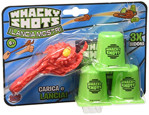 Whacky Shots – lanciamostri single, 3 vuilnisbakken