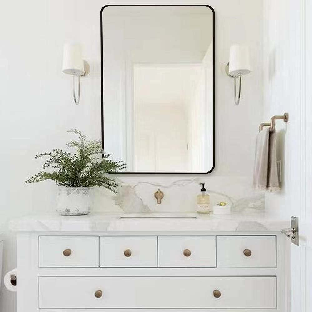 SHUILIAN Wall Mirror Rounded M Ranking TOP6 Corner Making-up Limited Special Price Bathroom