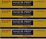 Hemorrhoidal Pain Relief Ointment Generic for Preparation H 2 oz. Per Tube Pack of 4 Tubes Total 8 oz.