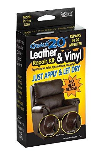 Master Manufacturing ReStor-it Quick 20 Leather & VinyI Repair Kit, 20 Minute Repar, 7 Colors,...