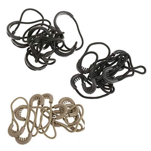 Colcolo 30x Elastic Zipper Pulls Pulls Zipper Extension