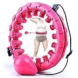 Hula Hoops con Peso para Adultos y nios, Hula Hoops Inteligentes para Bajar de...