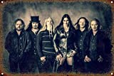 Nightwish Blechschild Retro Blech Metall Schilder Poster