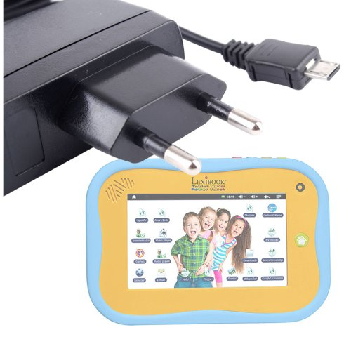 DURAGADGET Chargeur Secteur Compact (2A) pour Tablette Enfant Lexibook Junior Power Touch MFC270FR