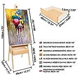 Immagine 2 kurtzy cavalletto pittura professionale in