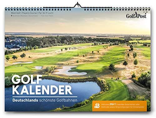 Golfkalender 2020 mit 2für1 Greenfee-Gutscheinen: Die schönsten Golfbahnen Deutschlands