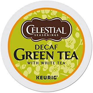 Celestial Seasonings DECAF Green Tea K-Cup 48 Count Case