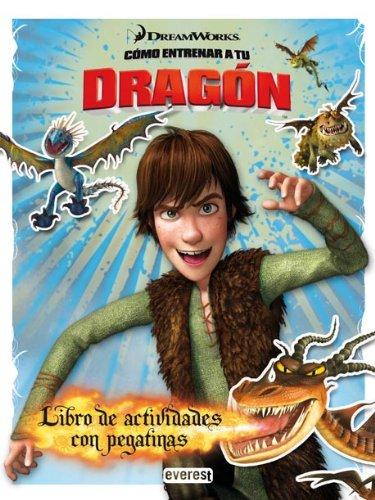 Cómo entrenar a tu dragón. Libro de actividades con pegatinas (Como entrenar a tu dragón)