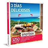 Smartbox - Caja Regalo Amor para Parejas - 3 días deliciosos - Ideas Regalos Originales - 1-2 Noches, Desayuno y Cena o 1 Noche, Desayuno, Cena y SPA o 1-2 Noches con Desayuno para 2 Personas