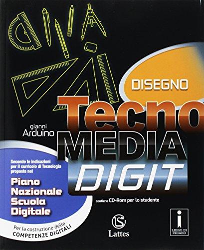 Tecnomedia digit. Disegno-Settori produttivi-Tavole-Mi preparo per l'interrogazione. Per la Scuola media. Con CD-ROM. Con DVD-ROM. Con e-book. Con espansione online