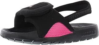 Nike Kids Jordan Hydro 4 GT Black/Pink 705177-009 (SIZE: