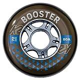 K2 Skates Unisex– Erwachsene Rollen Booster 72 MM 80A 4-Wheel...