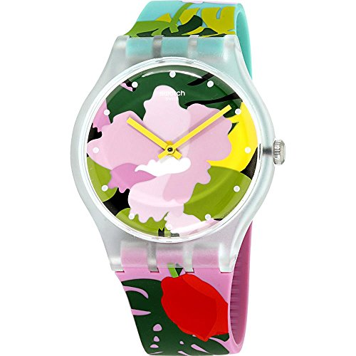 Swatch Damenuhr Tropical Garden SUOK132