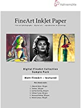 Hahnemuhle Matte FineArt Textured Archival Inkjet Paper Sample Pack (8.5 x 11 i