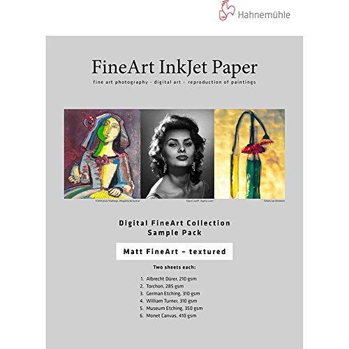 Hahnemuhle Matte FineArt Textured Archival Inkjet Paper Sample Pack (8.5 x 11 i