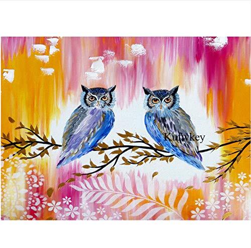 Rompecabezas de placer 1000 piezas abstracto colorido pájaro adulto ocio entretenimiento niños juguetes educativos