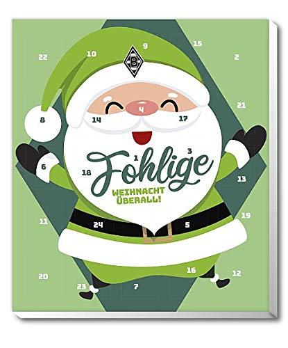 Borussia M`Gladbach - Mönchengladbach - Adventskalender 2019 - Weihnachtskalender, Premium mit Poster - 2019 - Bundesliga - Fußball - (4,95 € / 100 g)
