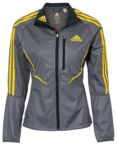 adidas Athletics ClimaWarm Windstopper Damen Jacke, Grau, Gr��e 44