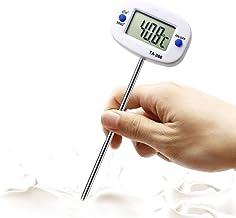 QXM draaibare digitale voedselthermometer BBQ vlees chocolade oven melk water olie koken keuken thermometer elektronische ...