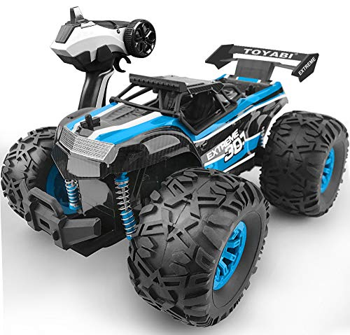 GizmoVine Remote Control Car Large Size 4WD with Special 4 Steering Mode Rock Crawler Waterproof Climber 2.4Ghz Off Road RC Vehicle for Kids and Adults