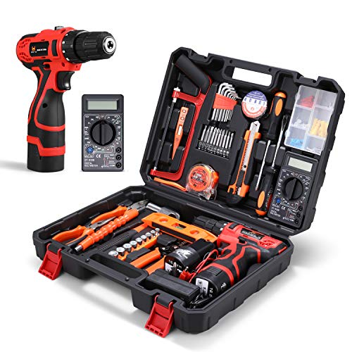 Best Home Repair Tool Kit With Cordless Drill
