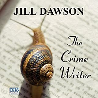 The Crime Writer audiobook cover art