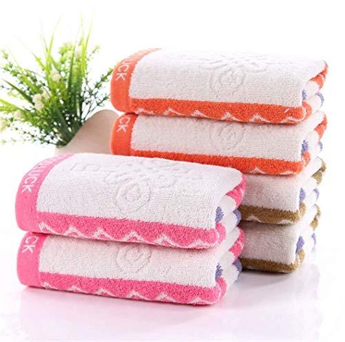 Handdoek Sneldrogend Lichtgewicht absorberende wasverzachter is perfect for het strand Yoga Fitness Zwemmen Camping Travel Bag 6 stuks 75X34Cm Zachte en comfortabele badhanddoeken.