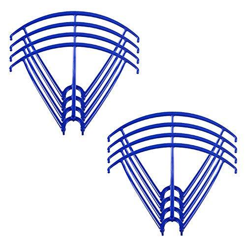 Accesorios de juguete Protección de cuchillas Protector de marco / Ajuste para Syma X5 X5C X5C-1 X5SC X5SW Protectores de hélice Accesorios para cuadricópteros RC Repuestos para drones (Color: Verde c