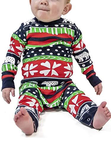 Sexy Dance Familien-passender Weihnachtspyjama Jumpsuit Spielanzug Nachtwäsche mit...