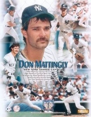 Don Mattingly New York Yankees MLB 8x10 Photograph Collage
