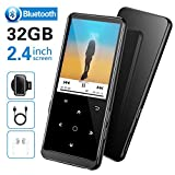 32GB Lettore MP3 con Bluetooth 4.2, Supereye 2.4 Pollici Portatile Lossless...