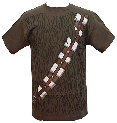 Star Wars I am Chewbacca Costume Adult Brown T-Shirt (X-Large)