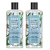 Love Beauty And Planet Radical Refresher Body Wash for Energizing Freshness Coconut Water & Mimosa...