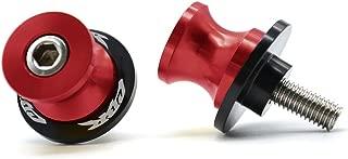2pcs 8MM M8 x1.5 Motorcycle Swing arm Sliders Spools For Honda CBR150 CBR100f CBR1000rr CBR1100xx CBR125 CBR250 CBR400rr CBR400f CBR450sr CBR600rr CBR600f CBR900rr CBR954rr (Red)