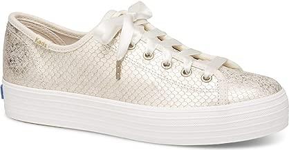 Keds Women's Triple Kick Snake Embossed Sneaker