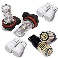 タント タントカスタム フォグランプ LED ウインカー ポジションランプ ナンバー灯 フロント LED化セット カスタム L375S・385S