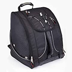 """ADVENTURE TRAVEL READY – pack a jacket, helmet, boots, and all your must have gear in this bag for your next outdoor adventure. The Athalon """"Everything"""" Boot Bag is loaded with features to suit your active lifestyle. AMAZING STORAGE – the boot bag fe..."""