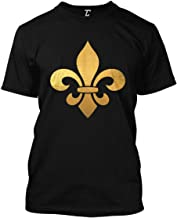 Gold Fleur De Lis - Mardi Gras New Orleans Men's T-Shirt