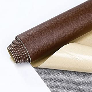 Self Adhesive Leather PU Fabric Repairing Patches for Sofa, for Car Seats, for Clothing (Width 19.6
