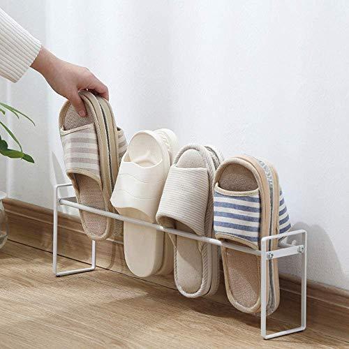 Senbowe スリッパラック 靴ラック 5足収納可 靴ホルダー シューズ スタンド 玄関 靴収納 収納力抜群 組み立て簡単 …