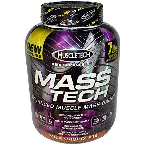 Muscletech Serie Rendimiento Mass Tech Polvo, Chocolate 3200 g