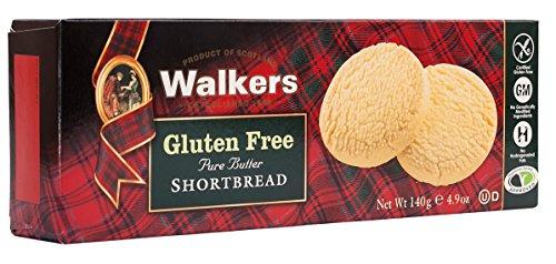 Walkers Shortbread Gluten-Free Shortbread Rounds, 4.9 Ounce