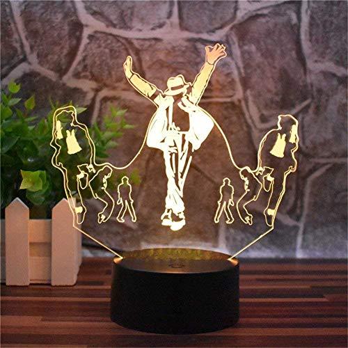 La lampe 3D Michael Jackson
