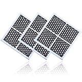 3 Piezas Filtro de Aire, LG LT120F Filtro de Aire del Refrigerador, para LG Kenmore ADQ73214402 ADQ73214403 ADQ73214404 ADQ73334008,LFX31925SW,LFX31925SB,Elimina eficazmente el olor del refrigerador