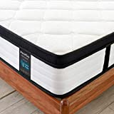 Inofia King Size Mattress, 5FT Latex Memory Foam king Mattresses with Pocket Sprung,27cm Bi-density Technology,Superior Ventilation,Uplifting Support,OEKO-TEX Certified (150x200 cm)